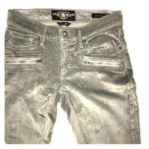 Corduroy  Pants grey